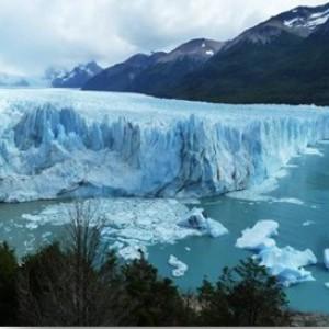 Glacier argentin lors d'un voyage parrainé