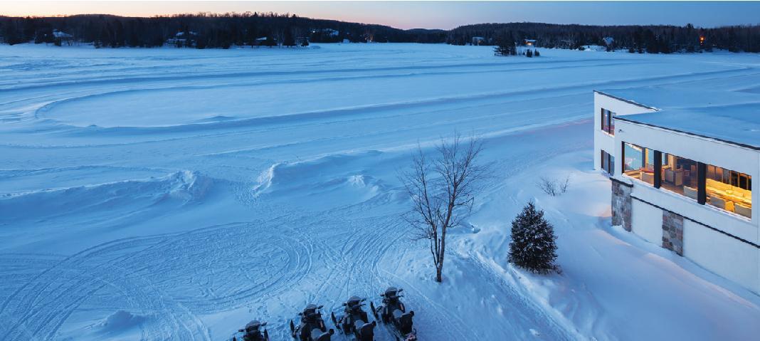 L'hiver chez nos amis Canadiens, voyage de récompense